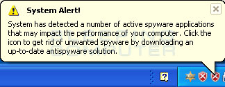 Fake Windows Security Center Alert