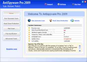 AntiSpyware Pro 2009 Image