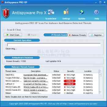 AntiSpyware Pro XP Image