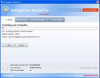 AntiSpyware Shield Pro Image