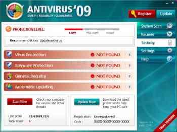 Antivirus'09 Image