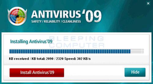 Installer for Antivirus'09