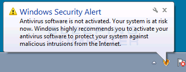Antivirus 10 Fake Security Alert #2