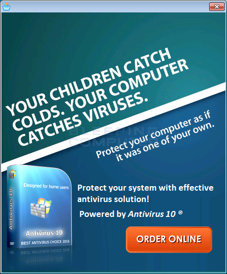 How to Remove Antivirus 10 (Removal Guide)