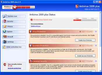 Antivirus 2009 Plus Image