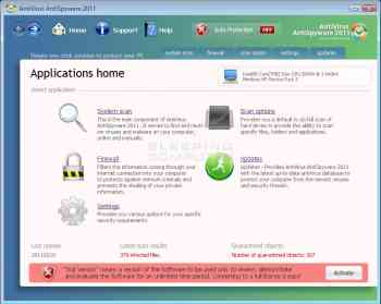 Antivirus AntiSpyware 2011 Image