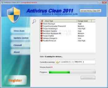Antivirus Clean 2011 Image