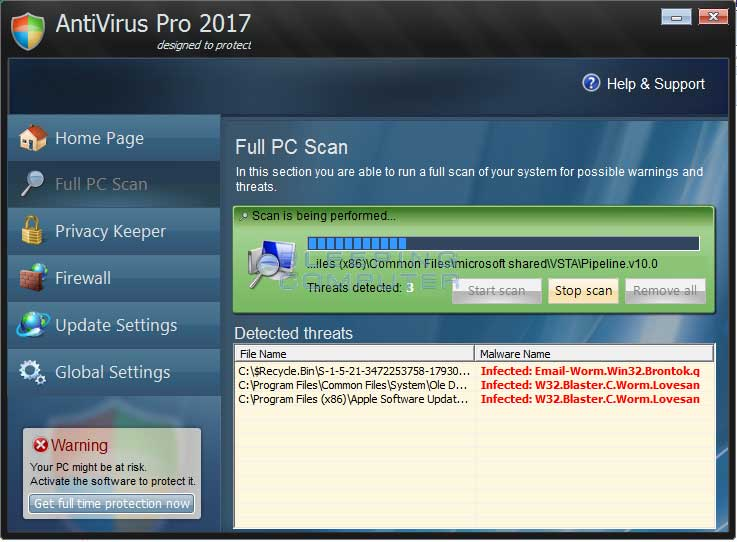 AntiVirus Pro 2017 Removal Guide