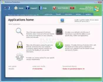 Antivirus Protection 2012 Image