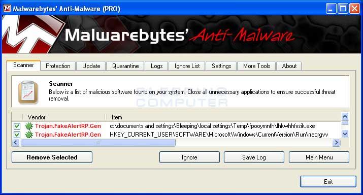 malwarebytes remove trial