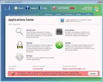 Antivirus Studio 2010 Image