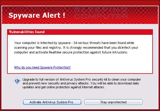 Spyware Alert