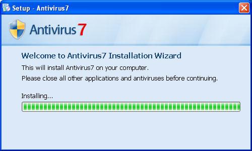 Antivirus7 Installer