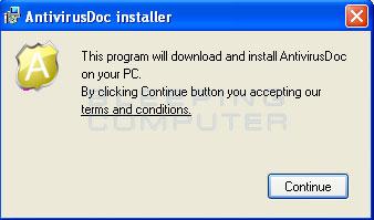 AntivirusDoc installer