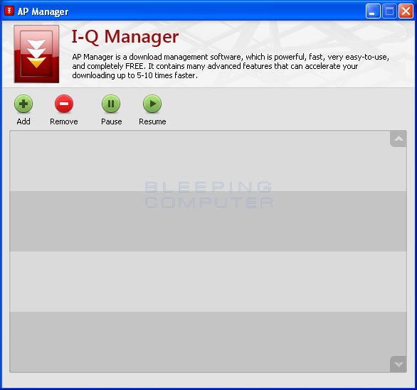 uninstall download manager