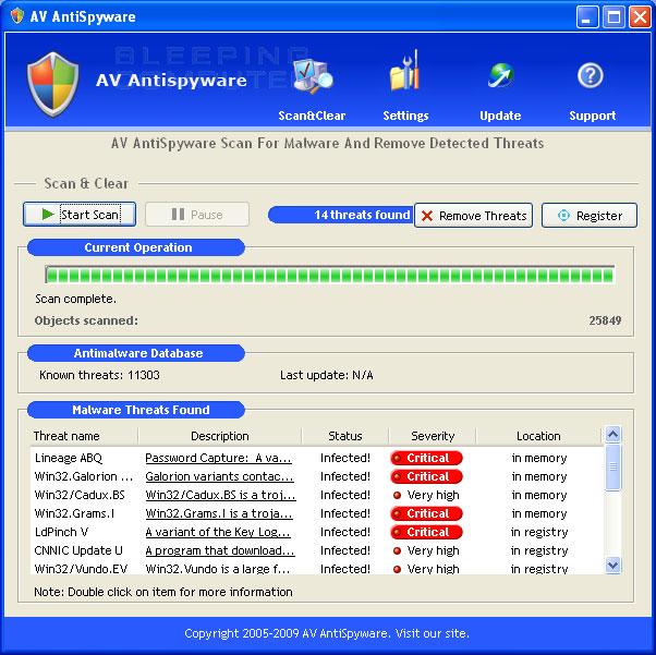 AV AntiSpyware