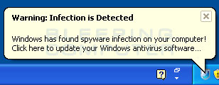 Infection detected alert