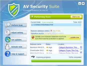 AV Security Suite Image