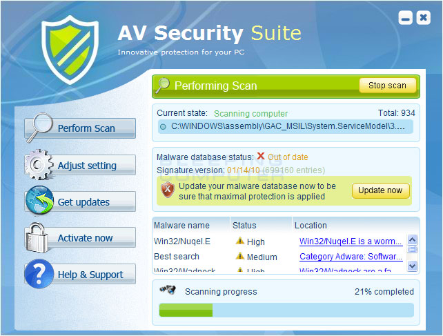 How to remove AV Security Suite (Uninstall Guide)