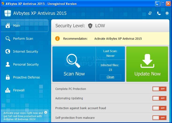 Lifetime Anti-Virus for Windows 7
