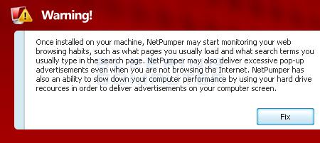 NetPumper alert