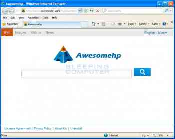 Awesomehp.com Screenshot