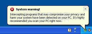 System warning