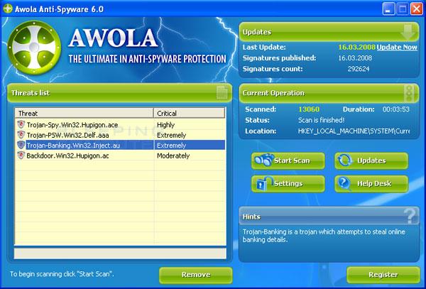 Awola 6 Screenshot