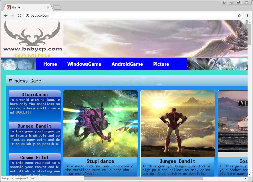 Babycp.com Web Site