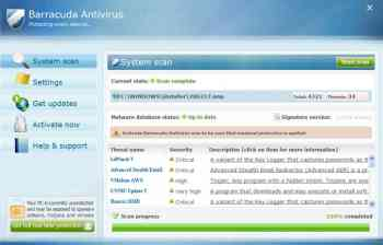 Barracuda Antivirus Image