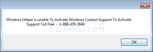 Fake Windows Activation Alert #2