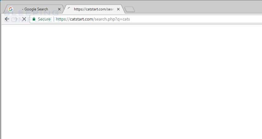 Catstart.com Search Redirect