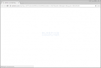 Clickforms.ru Browser Hijacker Screenshot
