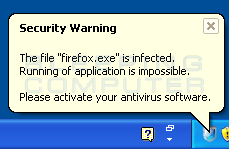 Fake Infection Alert