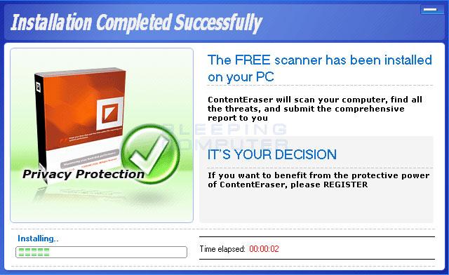 ContentEraser Installing