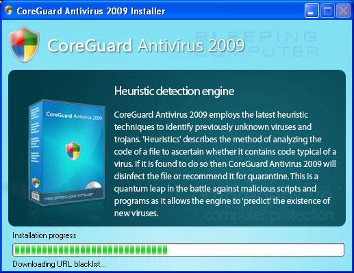 CoreGuard installing