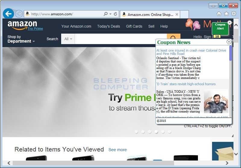 Coupon Alert stories on Amazon.com