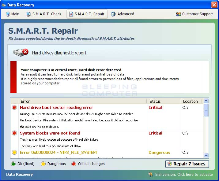 S.M.A.R.T. Repair