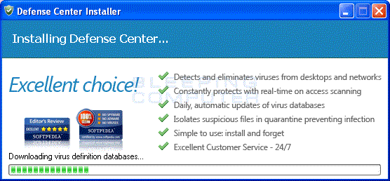 Defense Center installer