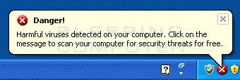 Viruses detected alert