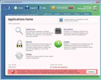 Desktop Defender 2010 Image