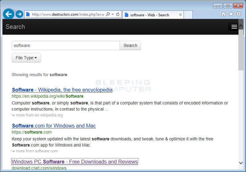 Destructsrv.com Search Results