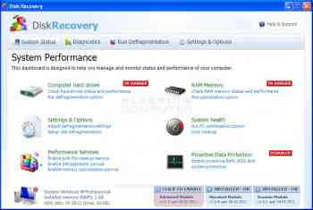 Disk Recovery Image