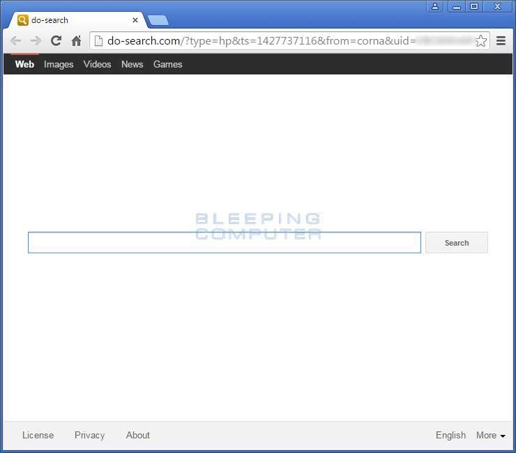 Do-search.com Browser Hijacker