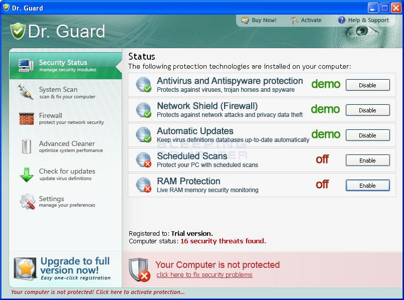 Dr. Guard screen shot