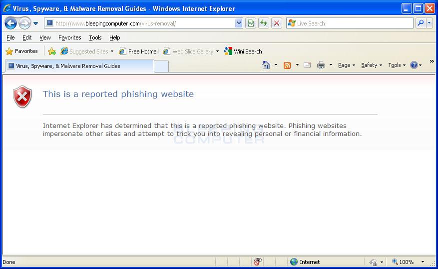 Hijacked Internet Explorer #2