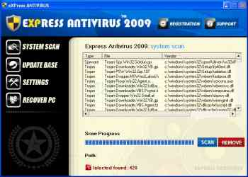 eXPress Antivirus 2009 Image