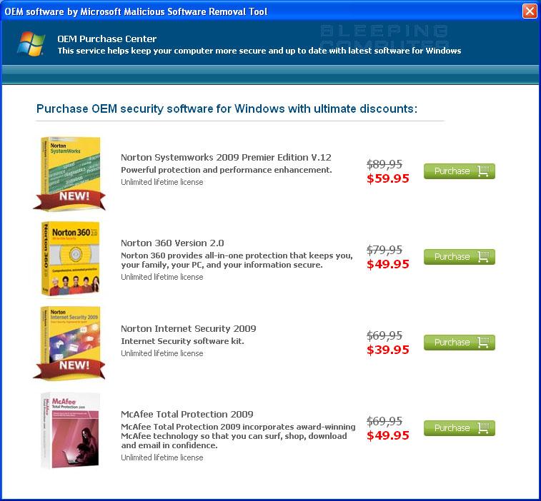 manually  microsoft malicious software removal tool