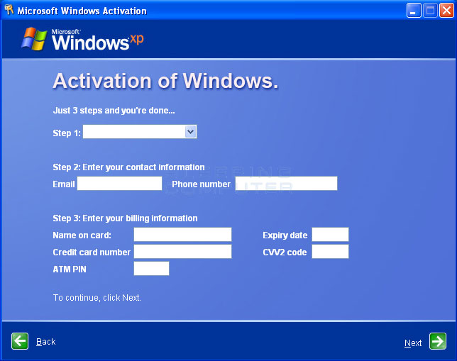 how to uninstall windows xp service pack 3