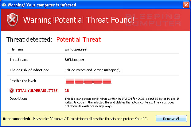 Threat Detected!